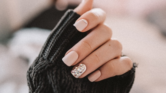 Manicured nails